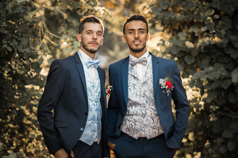 Photographie du mariage de Romain & jérémy réalisée par Emeline Caudesaygues à Toulouse