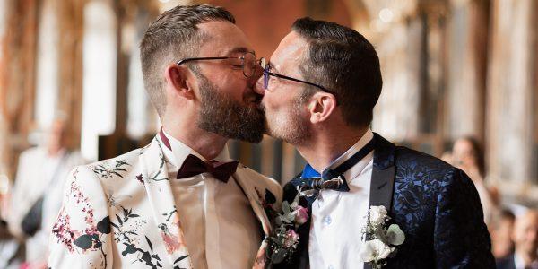 Photographie du mariage de Stephan & Cyril réalisée par Emeline Caudesaygues ( artisane d'émotions)