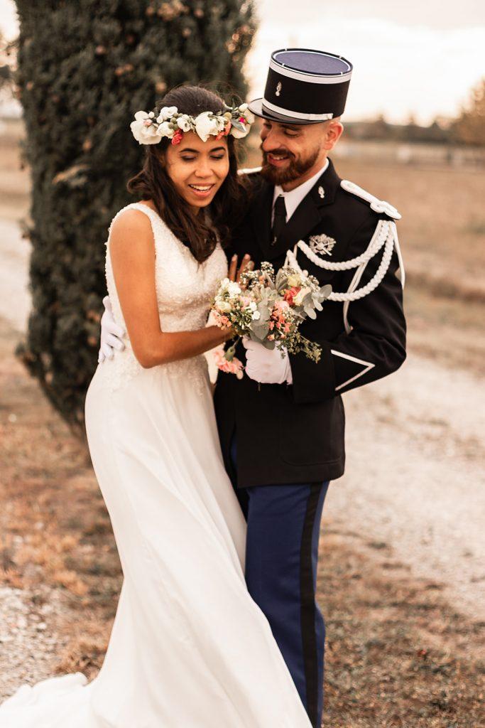 Photographe mariage réalisant des reportages photographiques